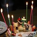 バースデーケーキ  7歳