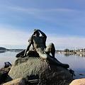 写真: ストックホルム・ヨットハーバーの彫刻1