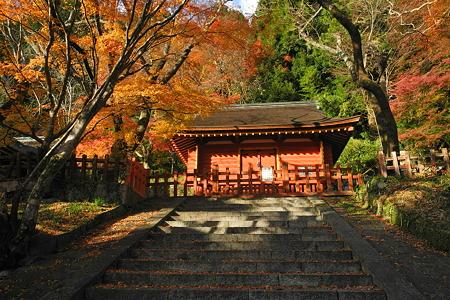 談山神社の紅葉-3