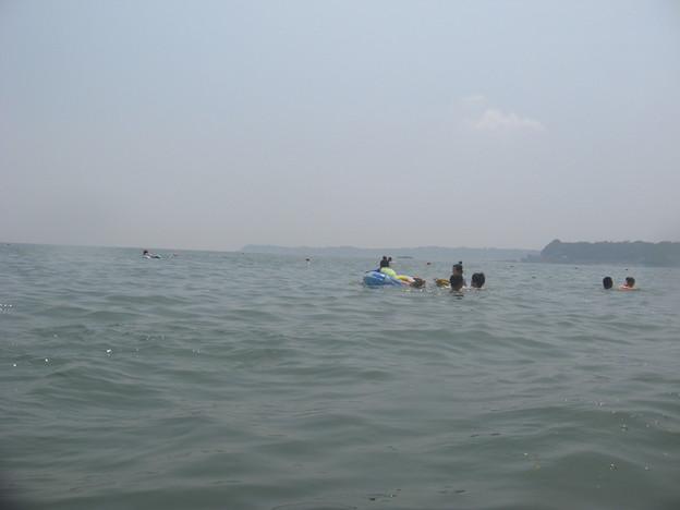写真: 今日の海はちょーど良い感じ