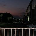 #GG11 AIR観戦直後の夕焼け
