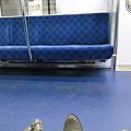 下り電車空いてます。