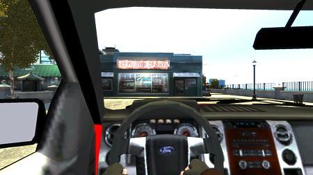 2012 Ford Lobo車内