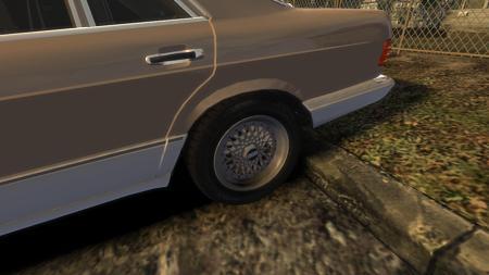 メルセデス・ベンツ W126 BBS